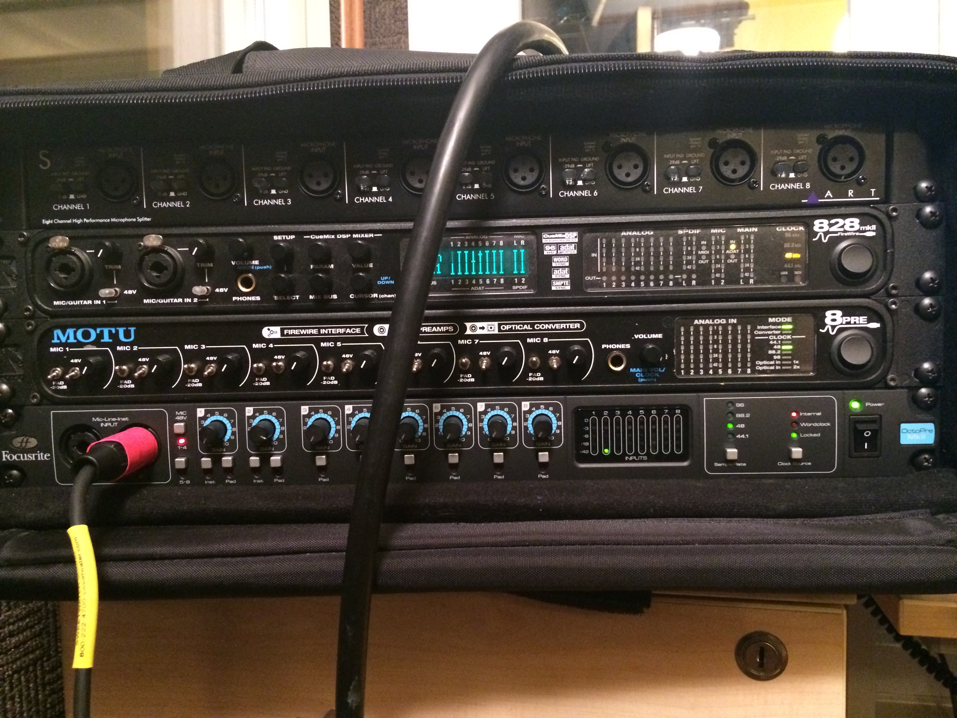 Live to Multitrack Rig, Closer Look
